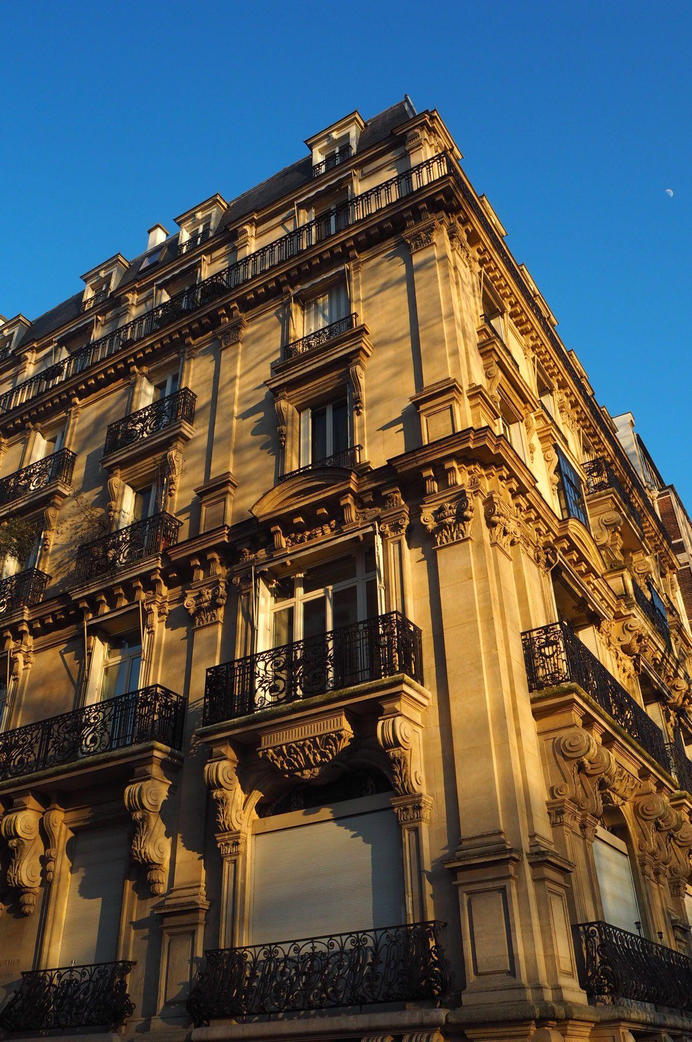 Architecture at Sunset in Paris