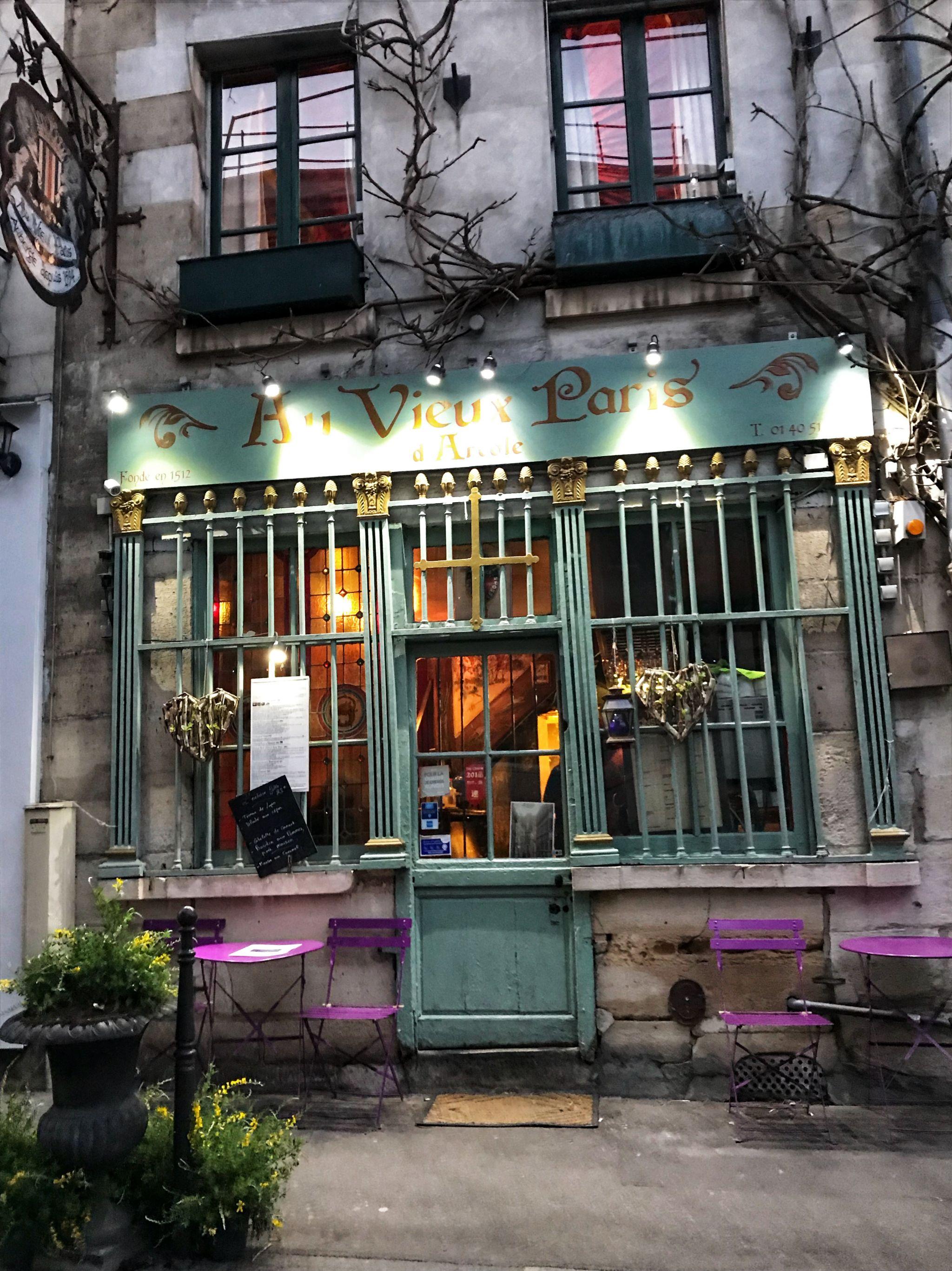 Au Vieux Paris D'Arcole Restaurant