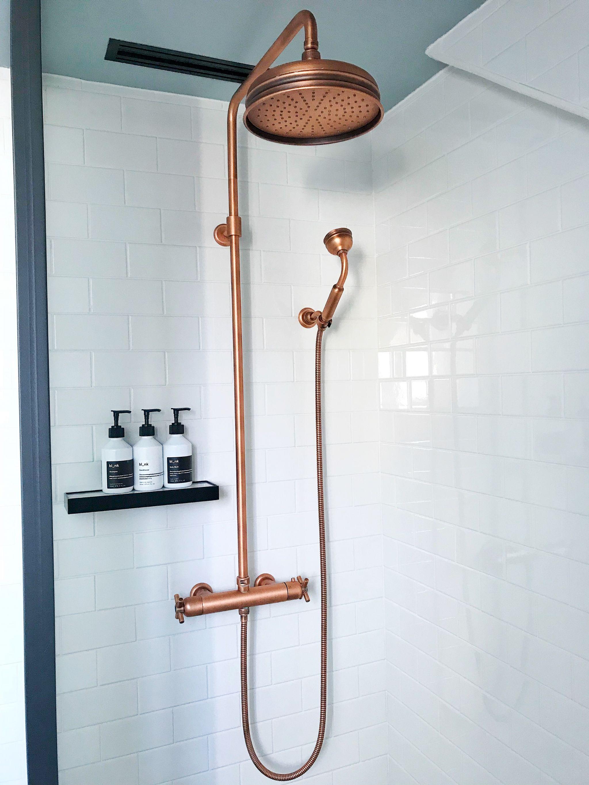 Hoxton Hotel Paris Bronze Copper Shower