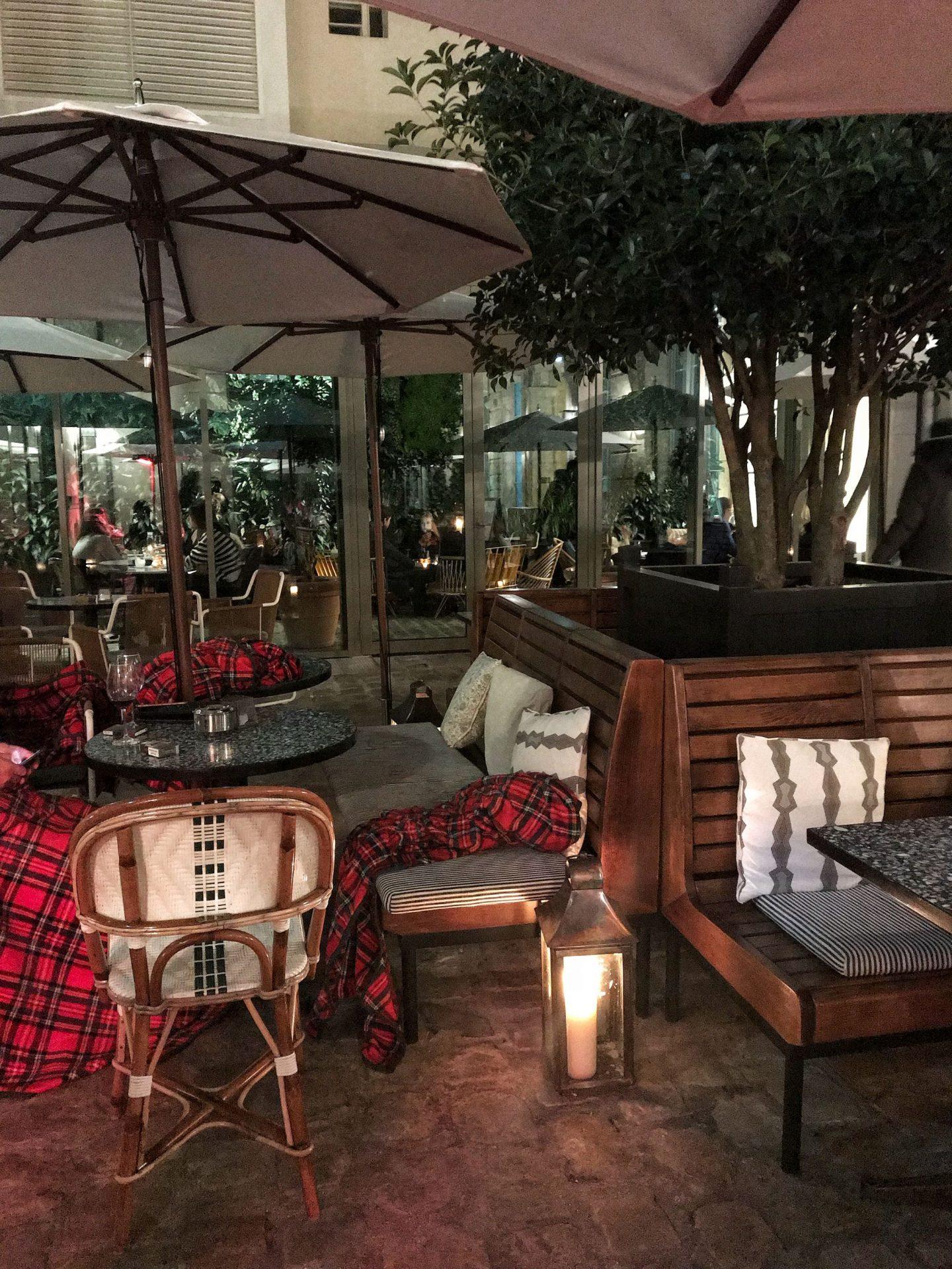 Hoxton Hotel Paris Winter Garden