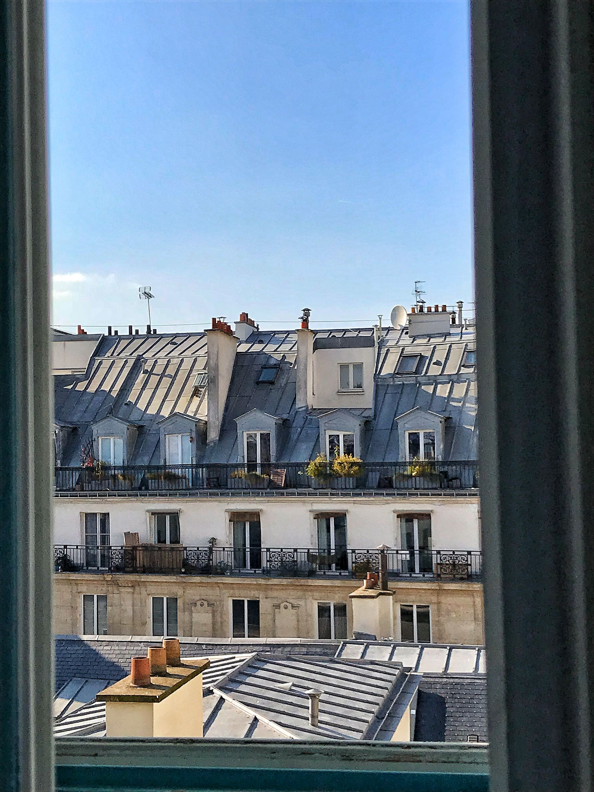 Hoxton Paris Hotel Window View