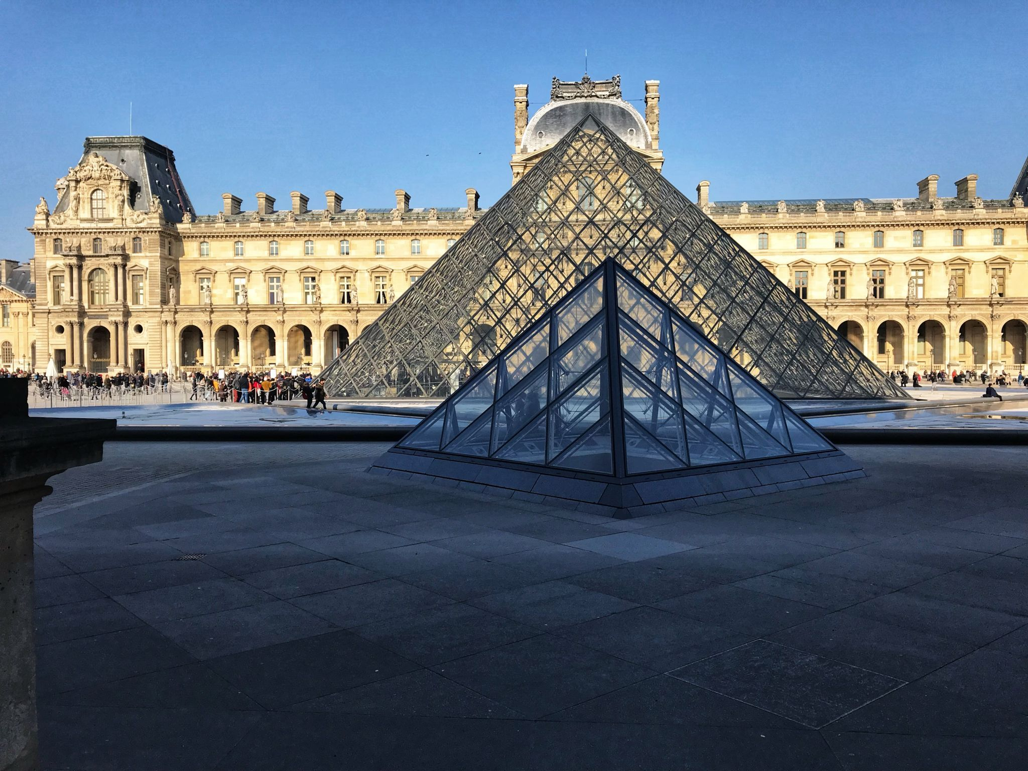 The Pyramids of The Louvre Paris