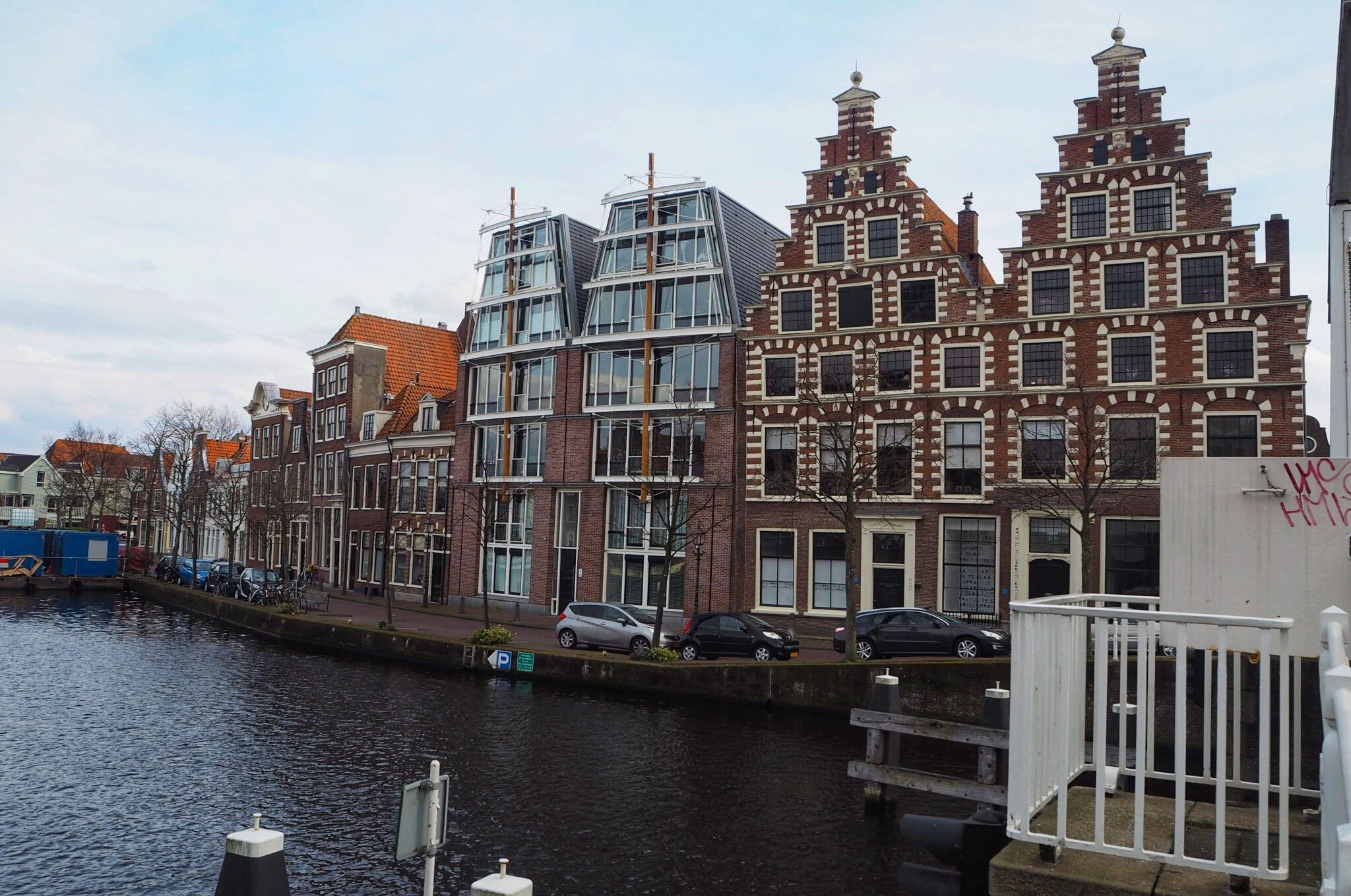 Canal view Haarlem