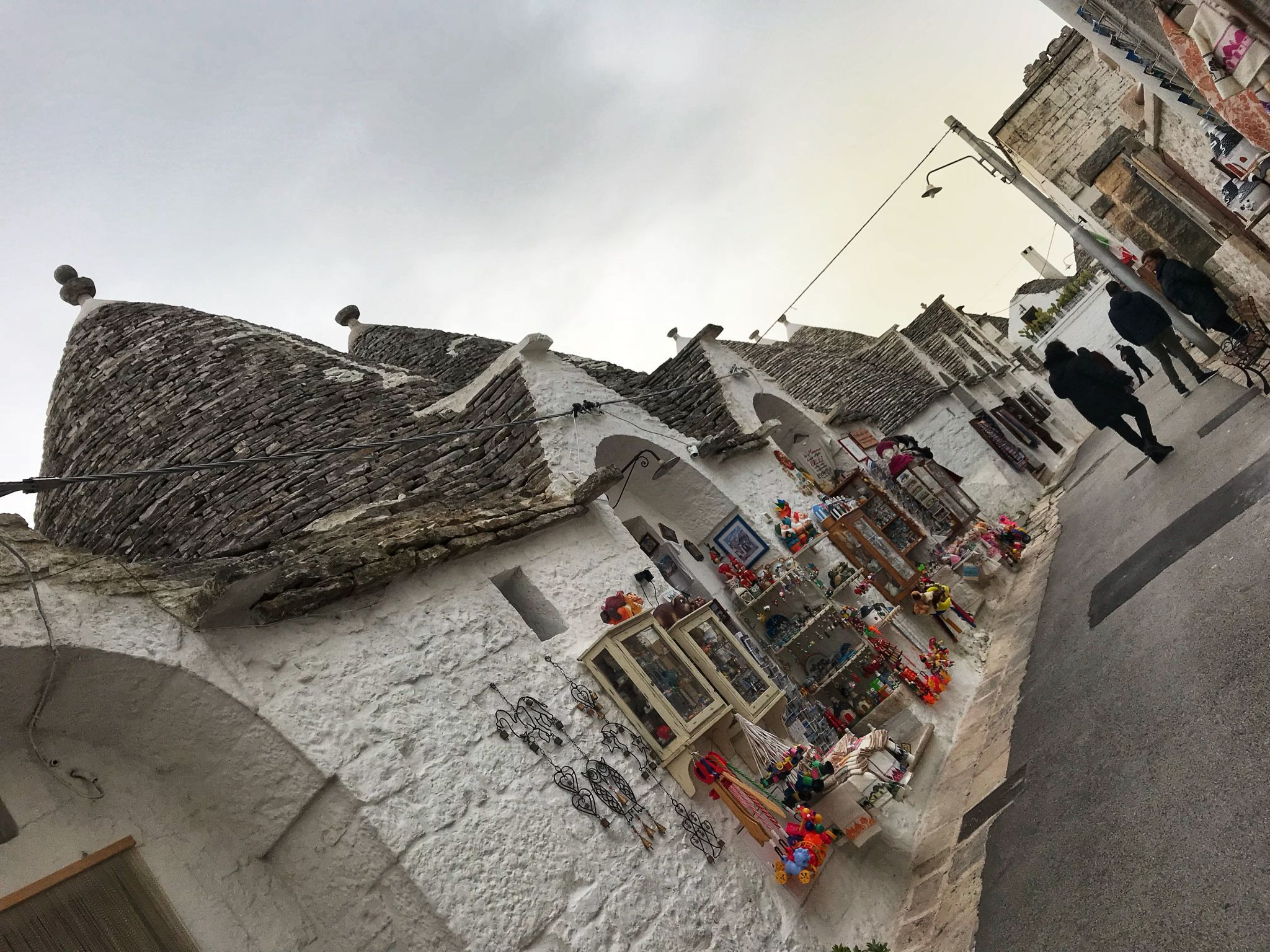 Souvenir shops in Alberobello
