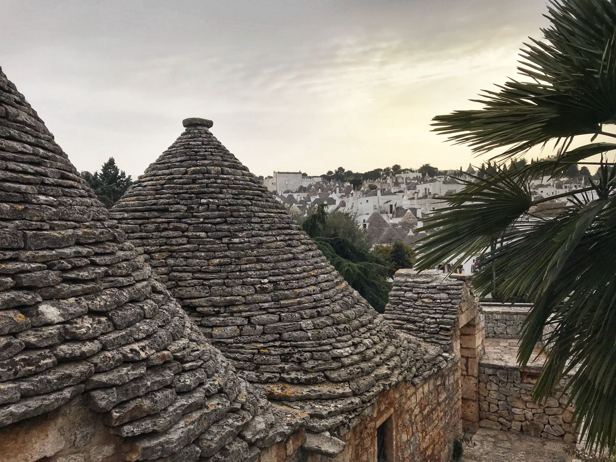 View over Alberobello Puglia Southern Italy