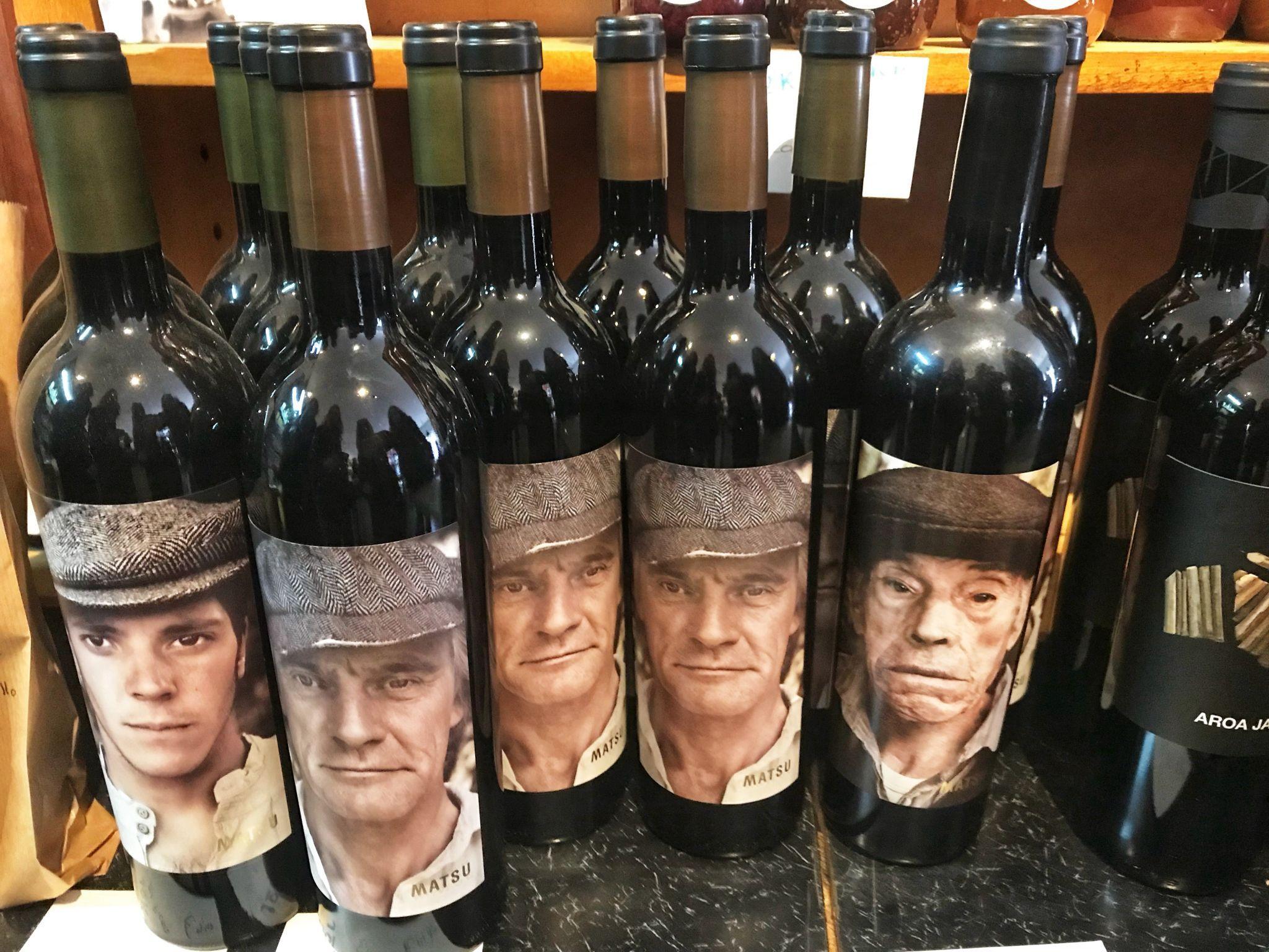 Age of wine determined by the bottle? JokkMokk Eindhoven