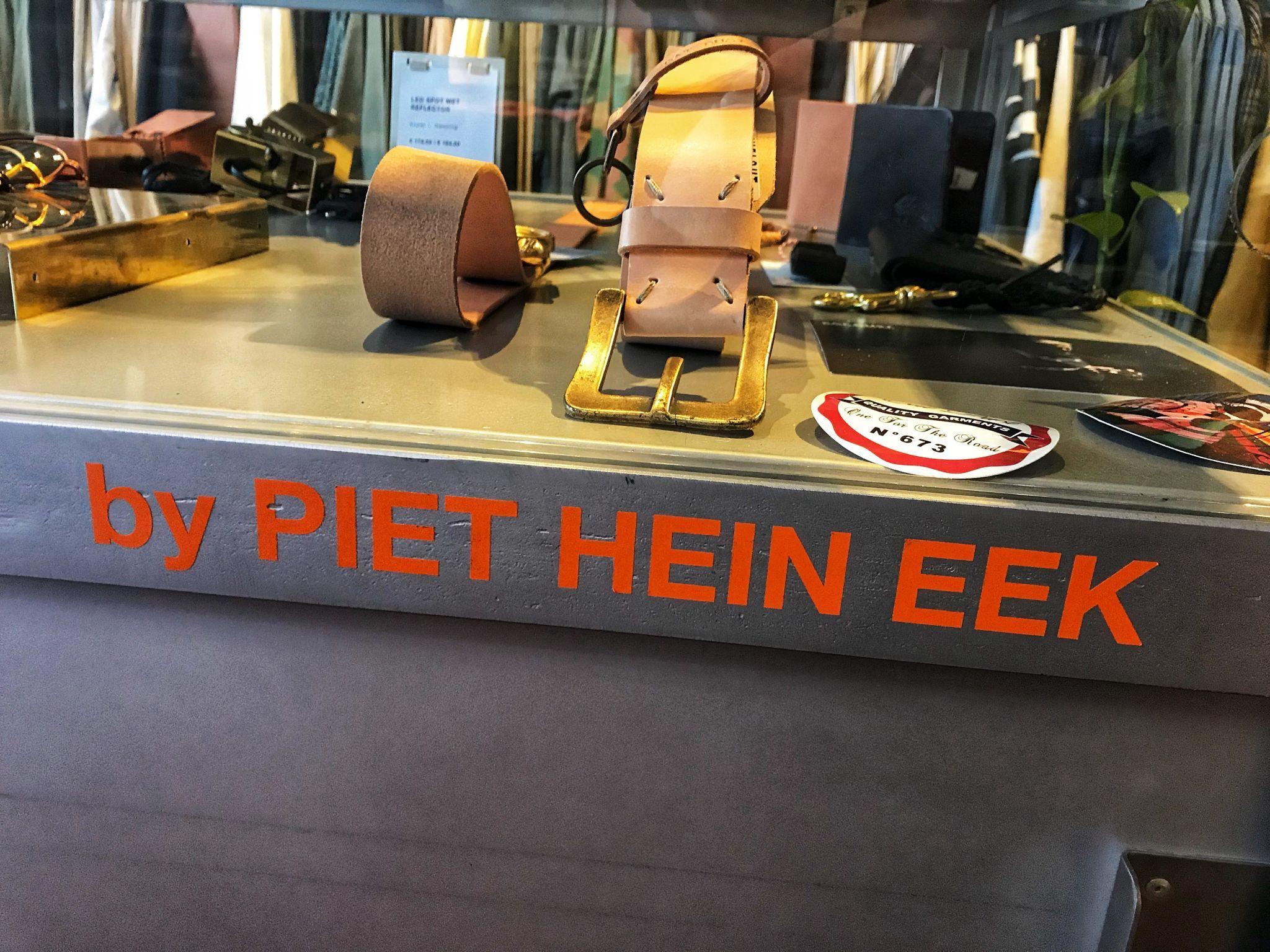 Belt at Piet Hein Eek Eindhoven