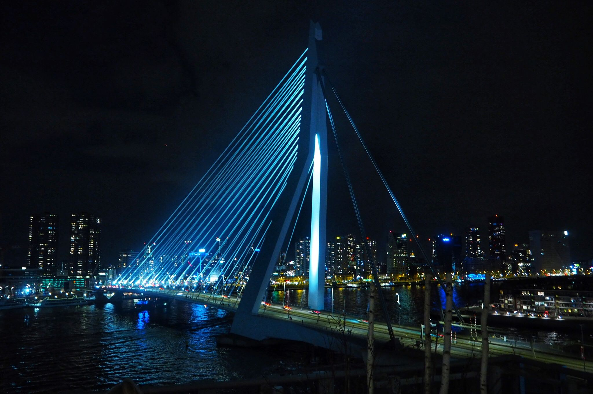Erasmus Bridge Views Nhow Hotel Rotterdam