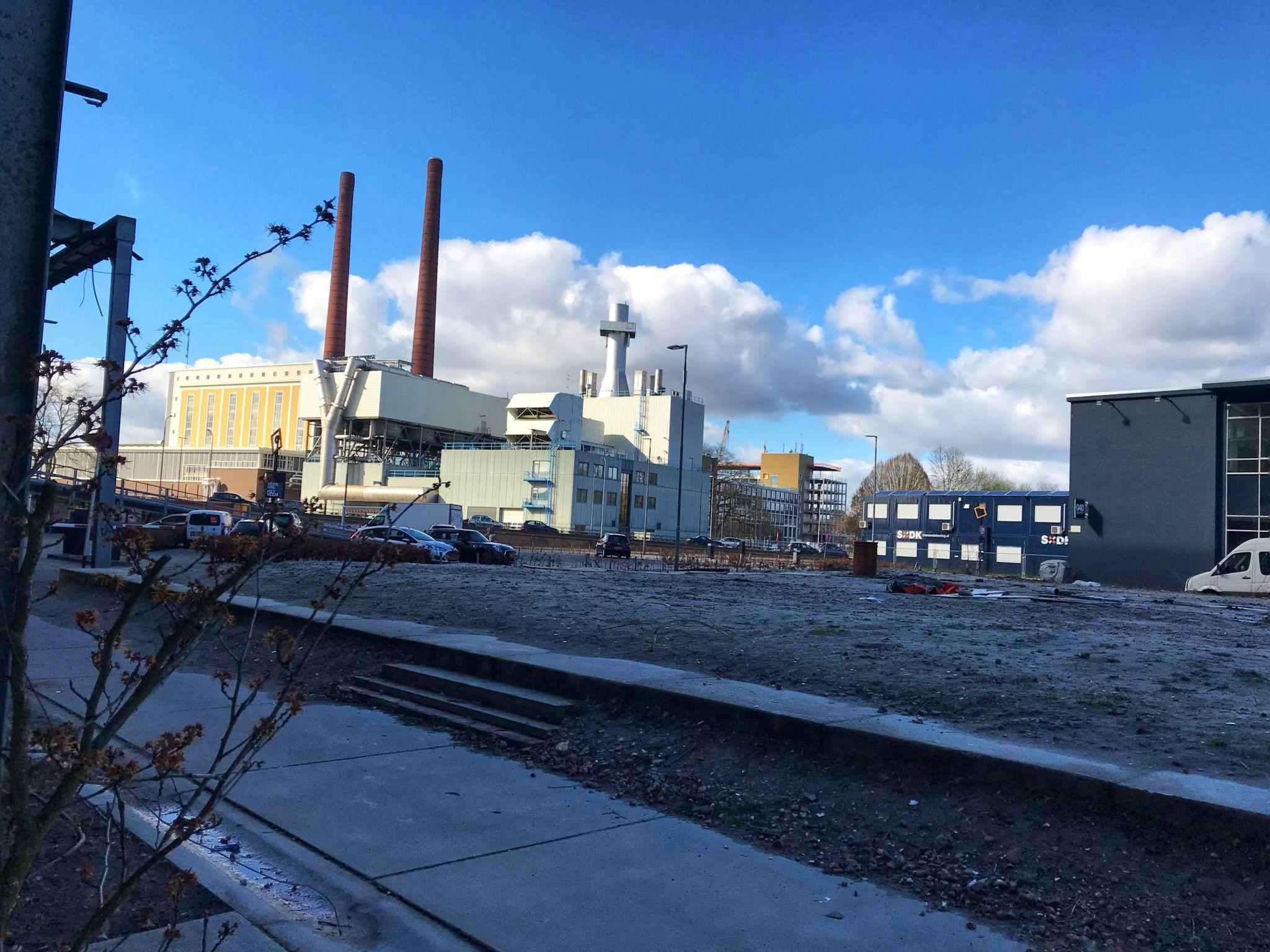 Industrial landscape in Eindhoven