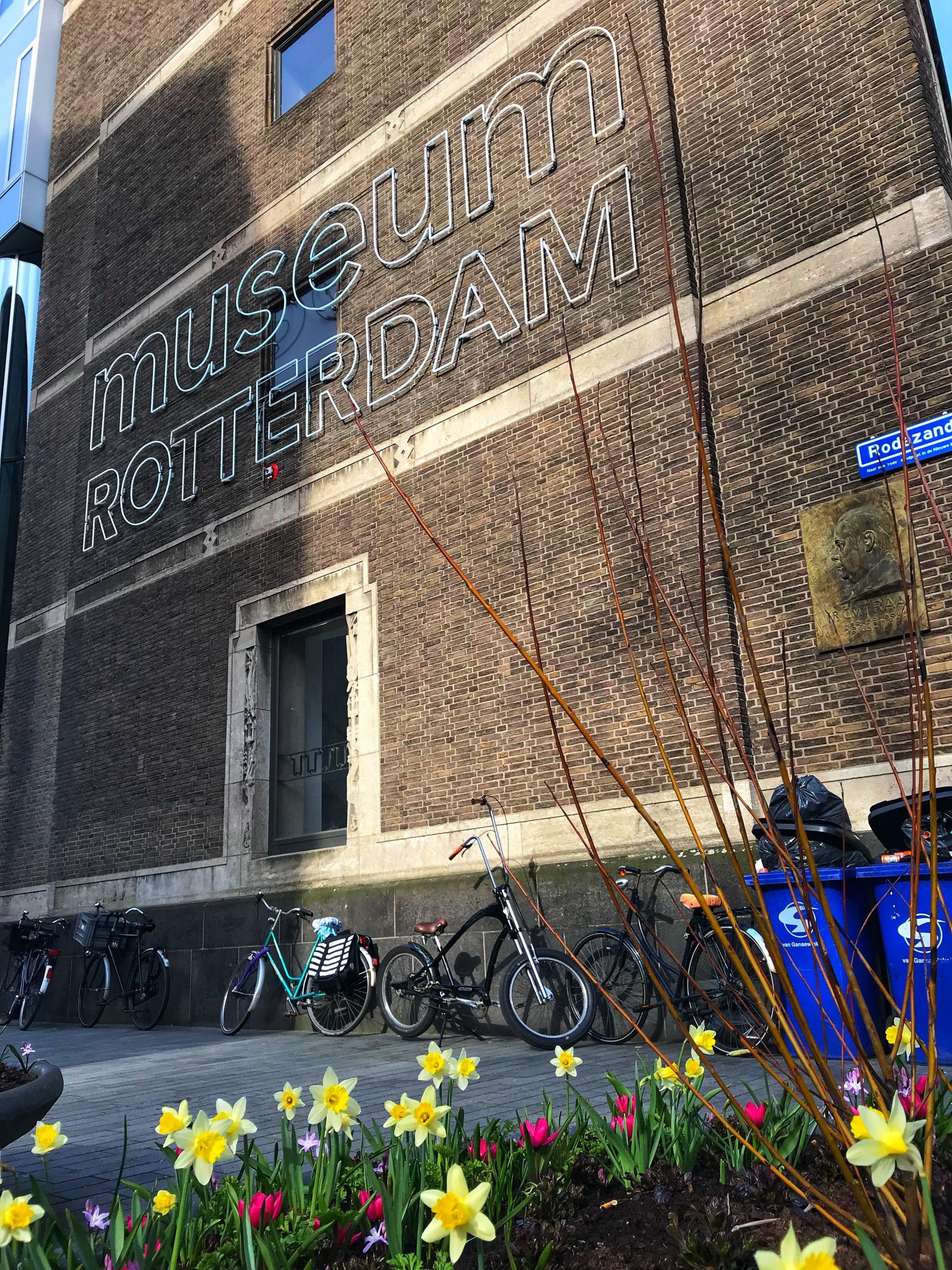 Museum Rotterdam in Spring