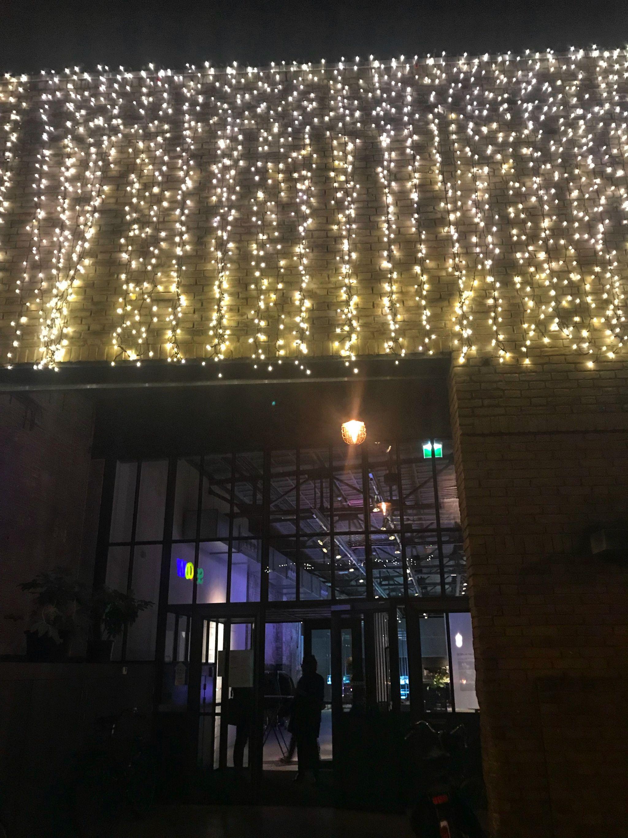 Pretty fairy lights Kazerne Restaurant Eindhoven