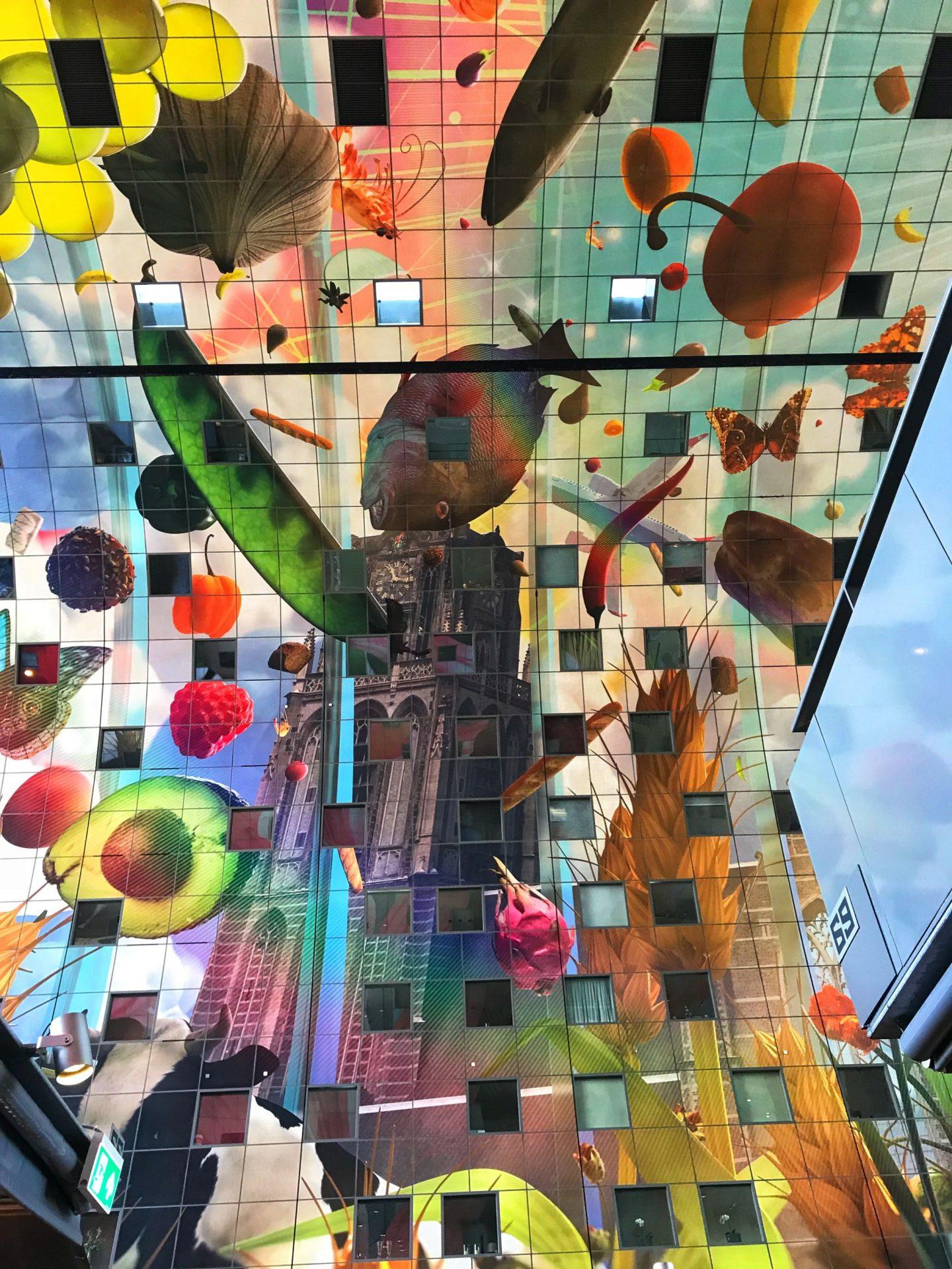 Stunning Art work Horn of Plenty Markthal Rotterdam