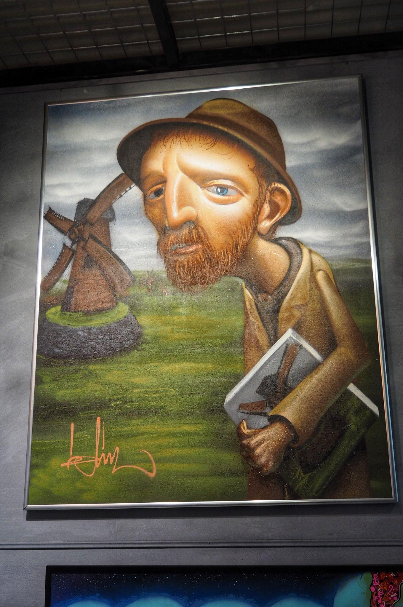 Van Gogh Art work Urban Shopper Strijp-S Eindhoven