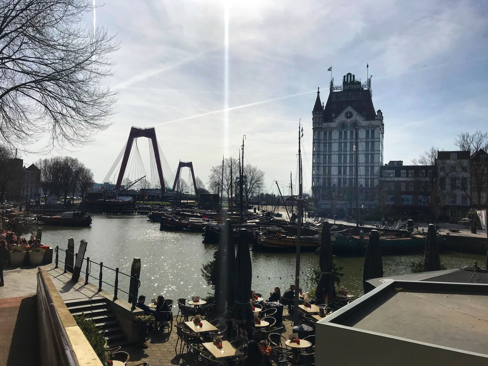 Witte Huis Rotterdam Oude Haven old harbour