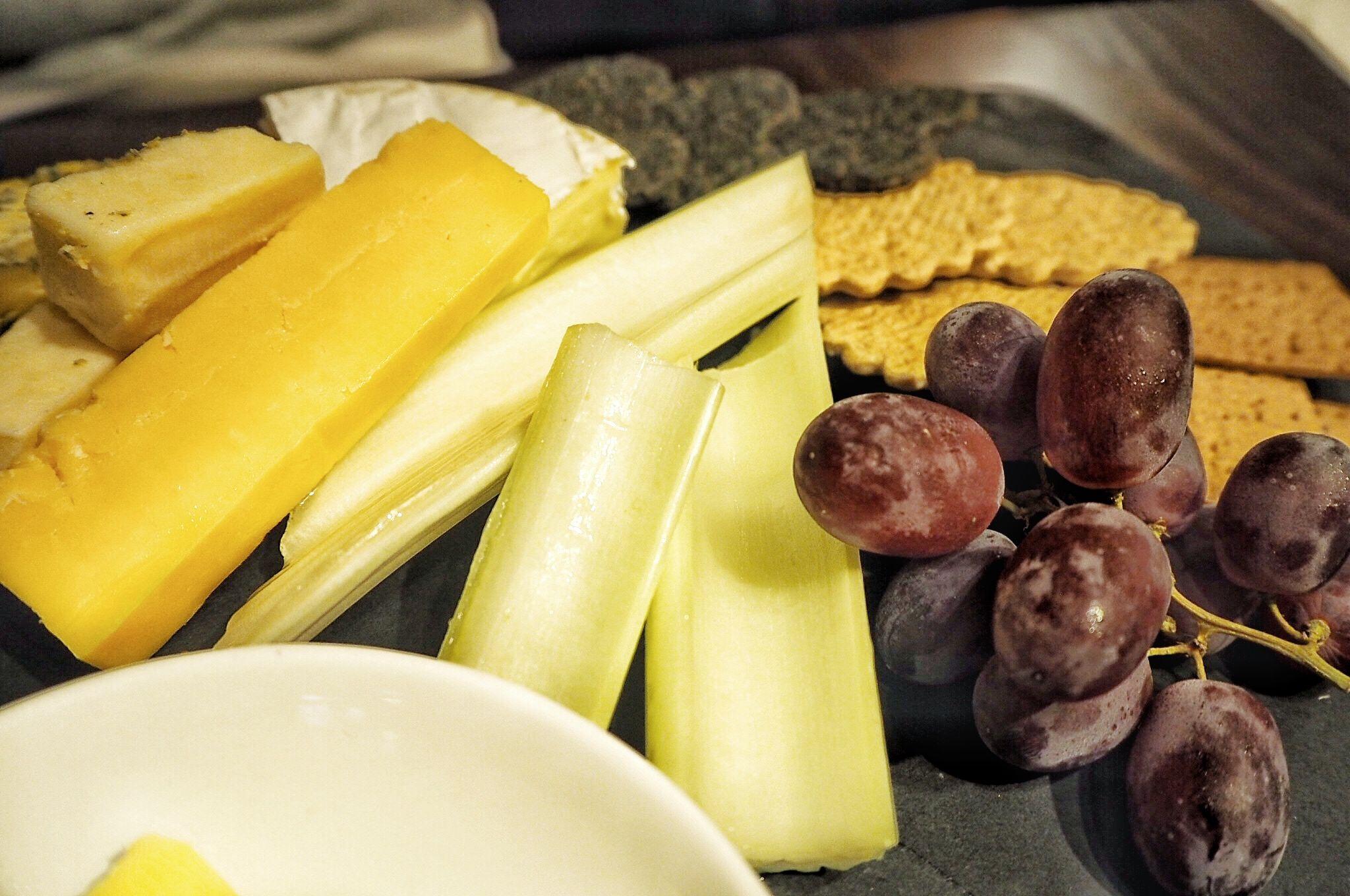 Cheese board Miller and Carter Milton Keynes Restaurant