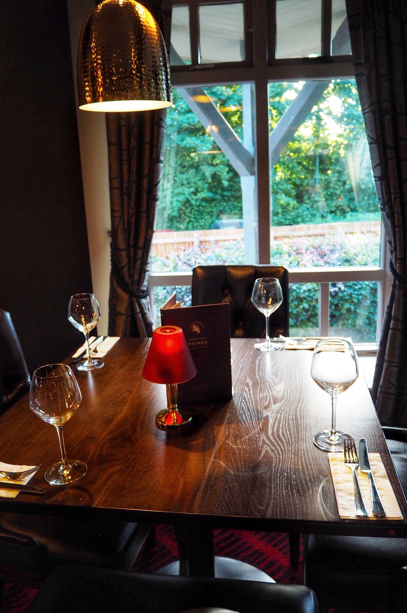 Dining at Miller and Carter Milton Keynes