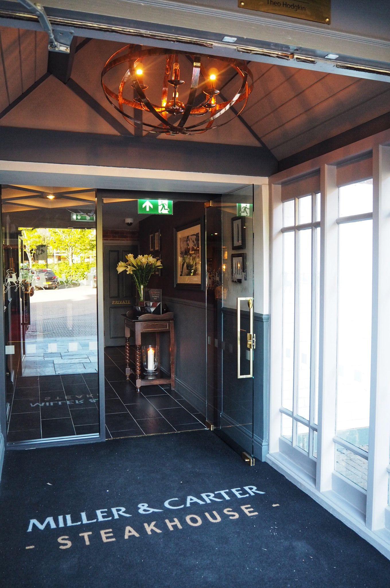 Entrance Miller and Carter Milton Keynes