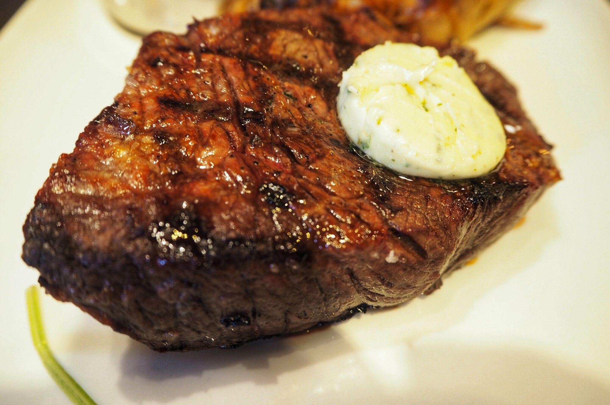 rump steak Miller and Carter steakhouse restaurant Milton Keynes