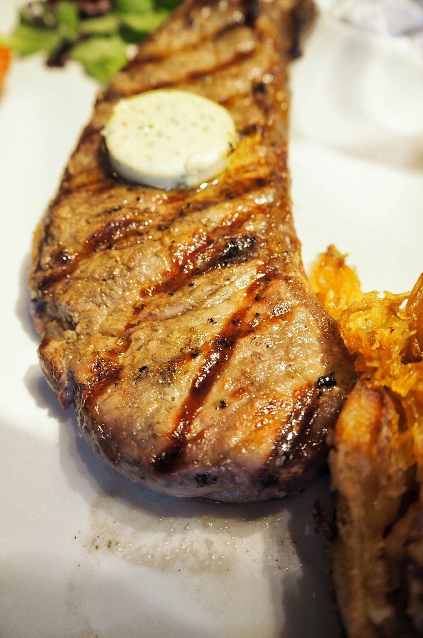 sirloin steak Miller and Carter steakhouse Milton Keynes