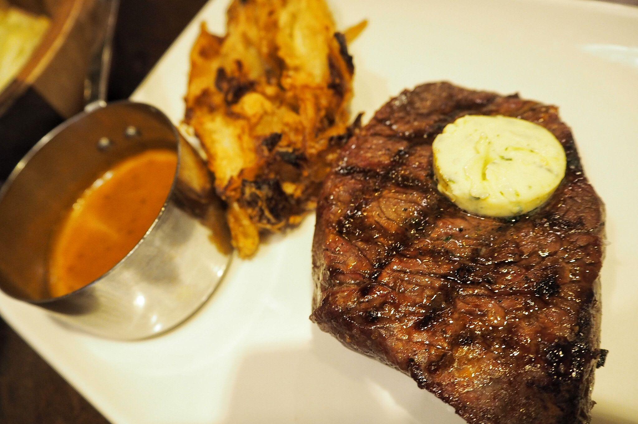 steak at Miller and Carter Milton Keynes