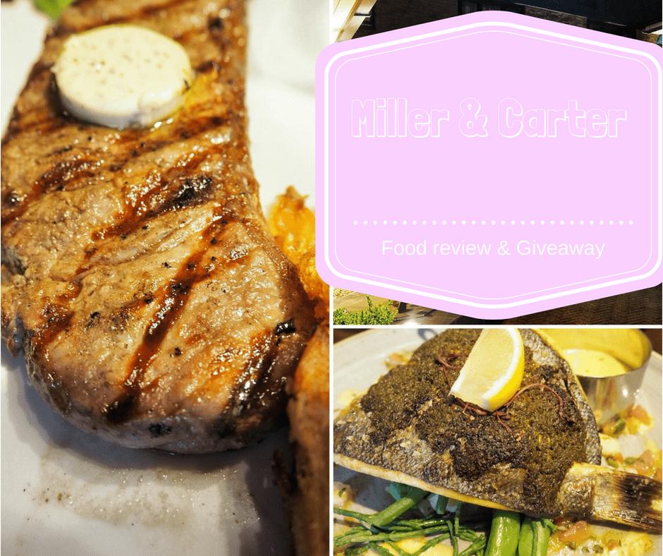 The Miller & Carter Steakhouse Experience in Milton Keynes