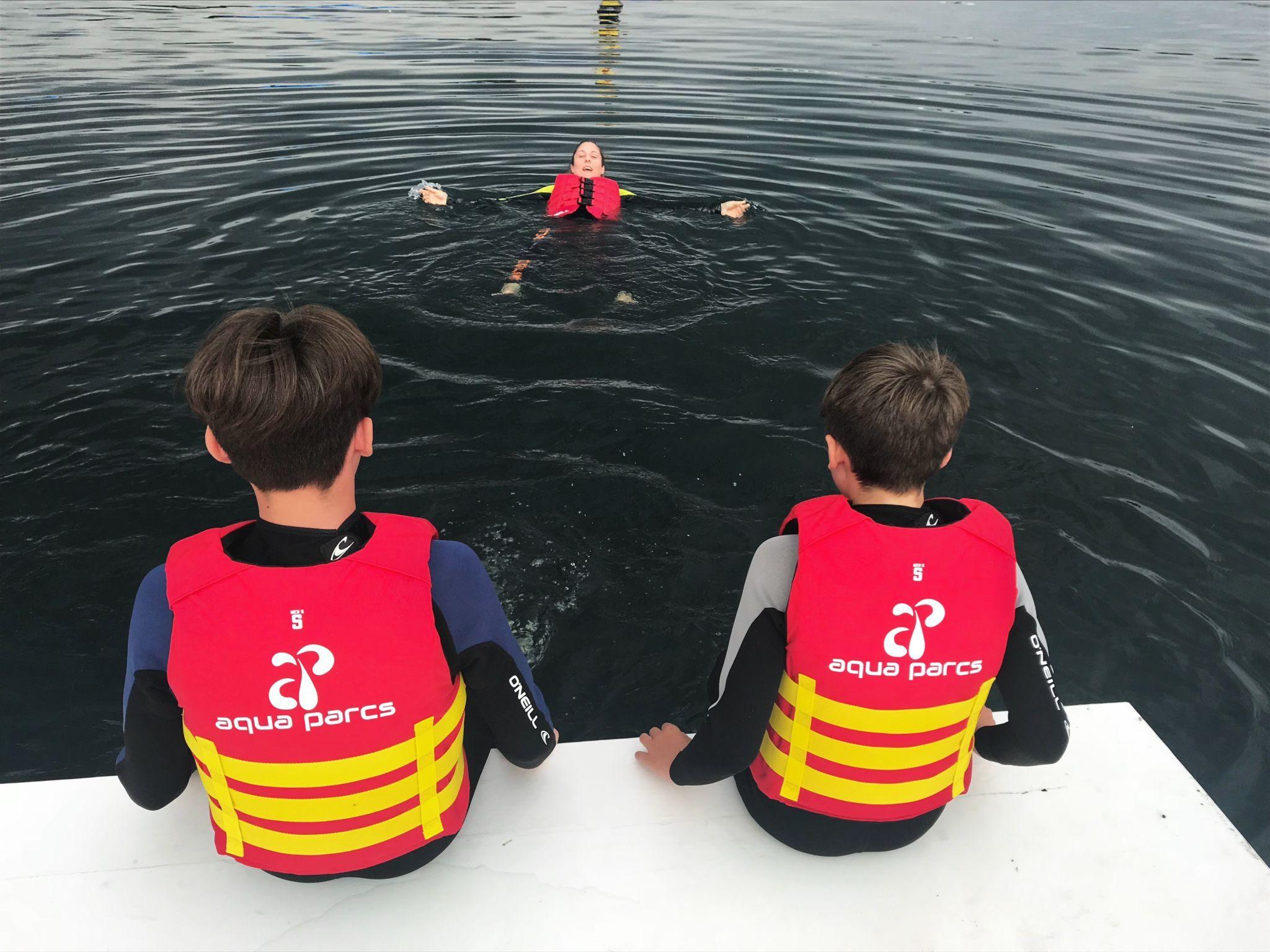 Mums love Aqua Parcs Willen Lake Milton Keynes