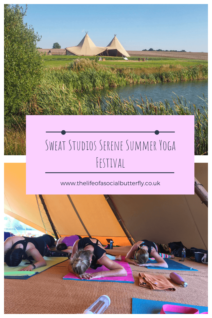 Sweat Studios Serene Summer Yoga Festival Pinterest