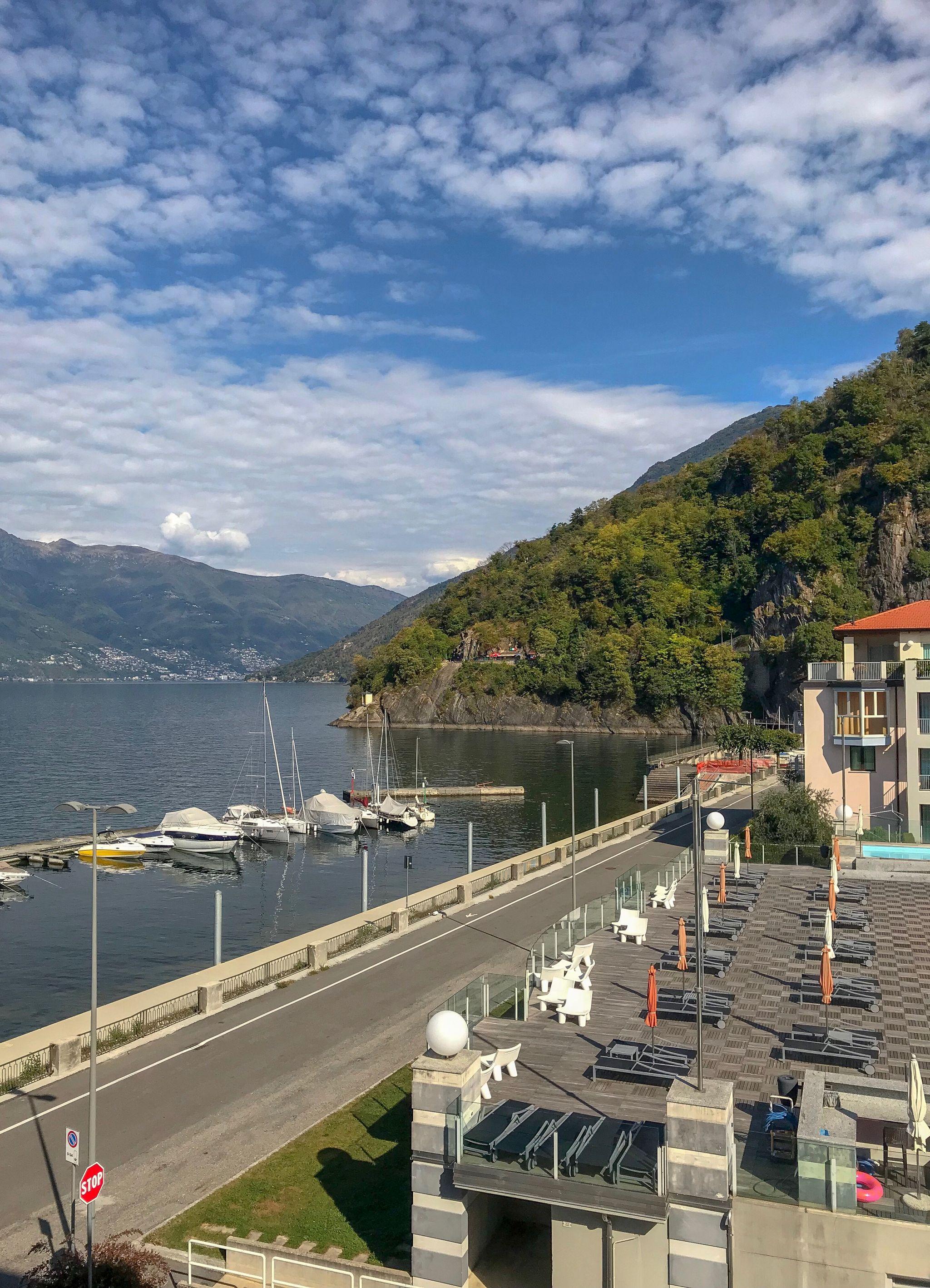 Golfo Gabella Resort overlooking Lake Maggiore Italy