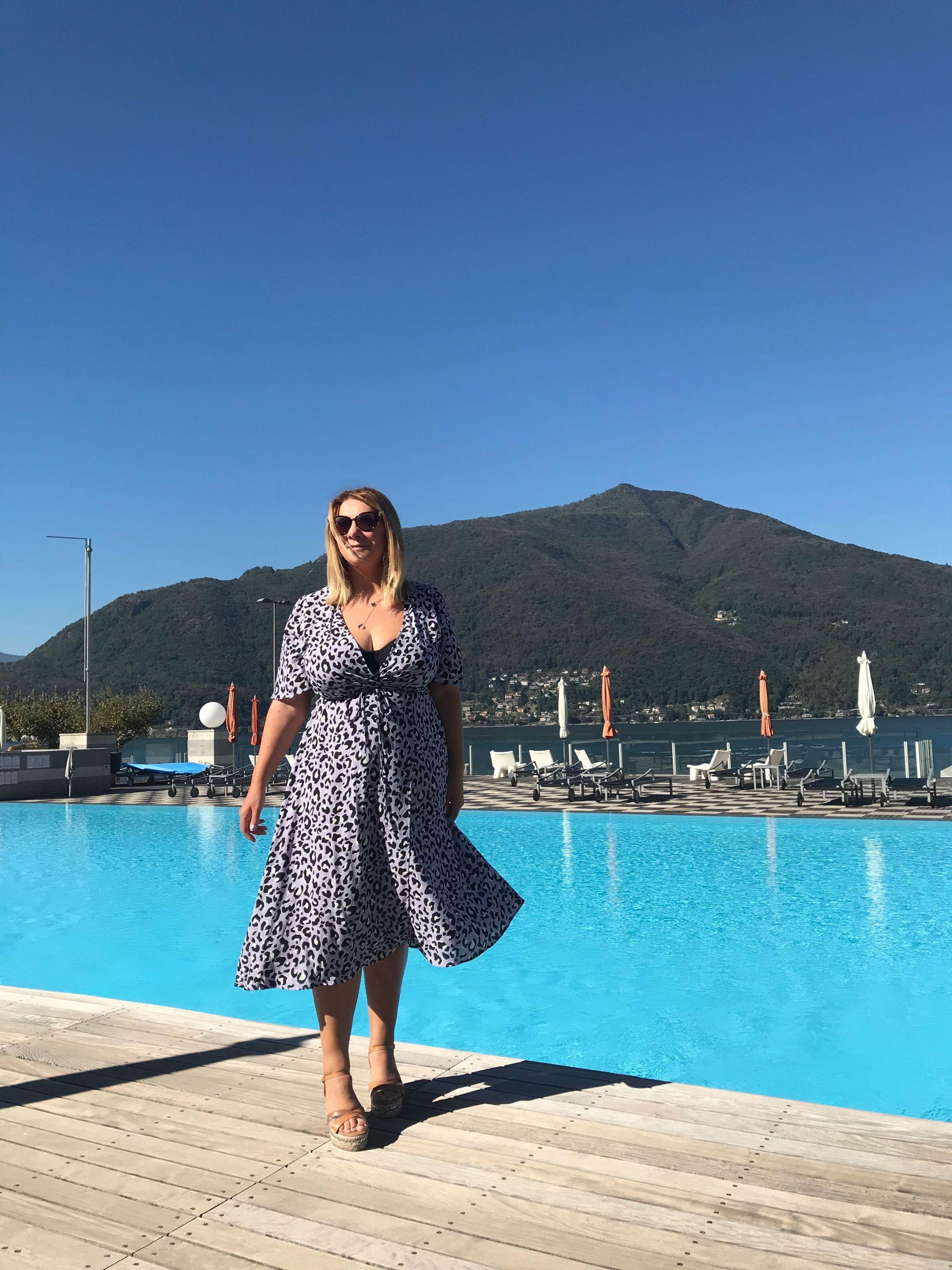 Loving my Italian Lakes holiday at Golfo Gabella Resort Lake Maggiore