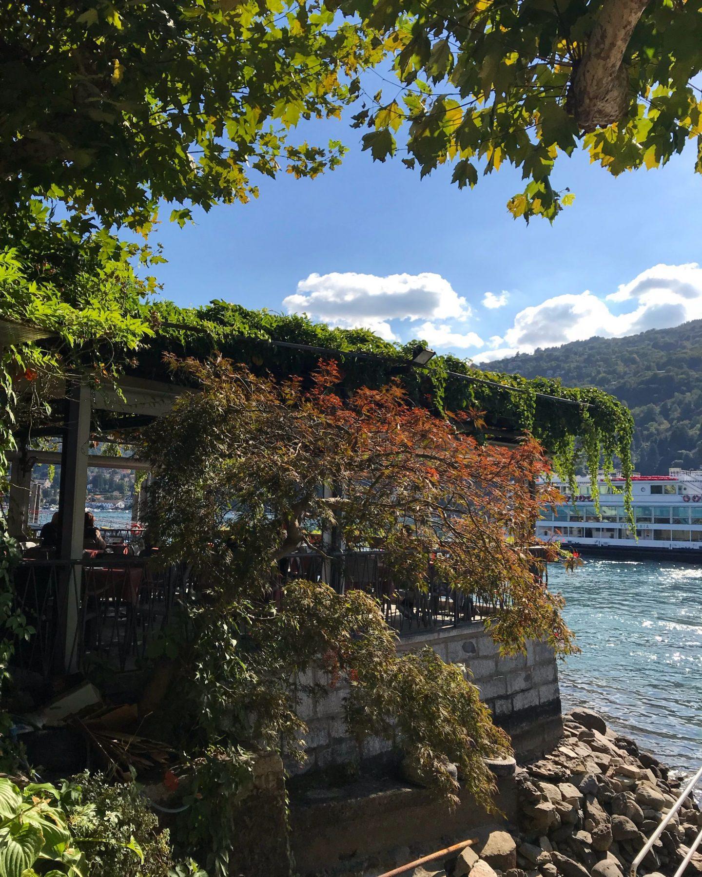 Autumn Colours in Isola dei Pescatori Borromean Islands