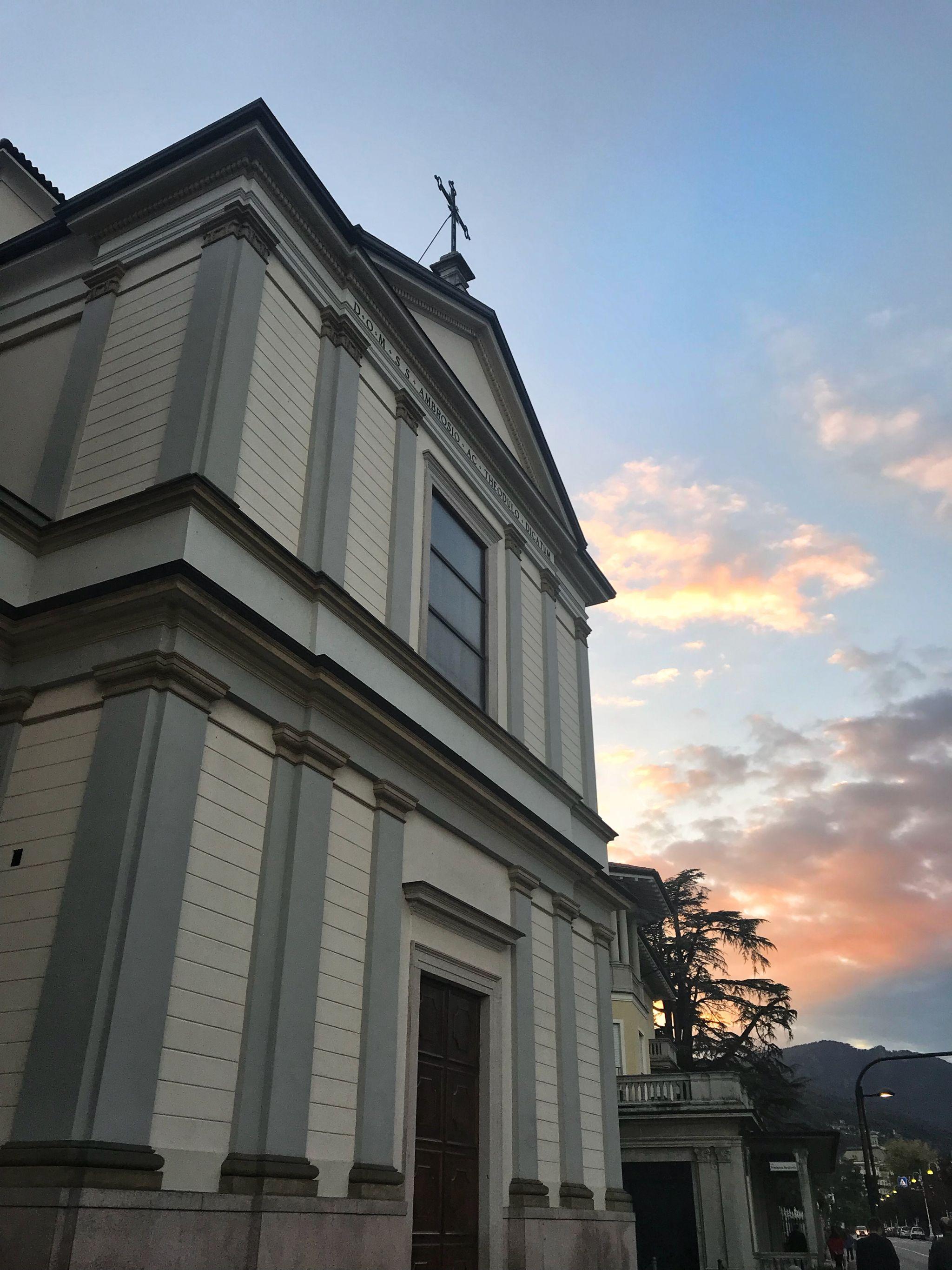 Church Stresa Lake Maggiore