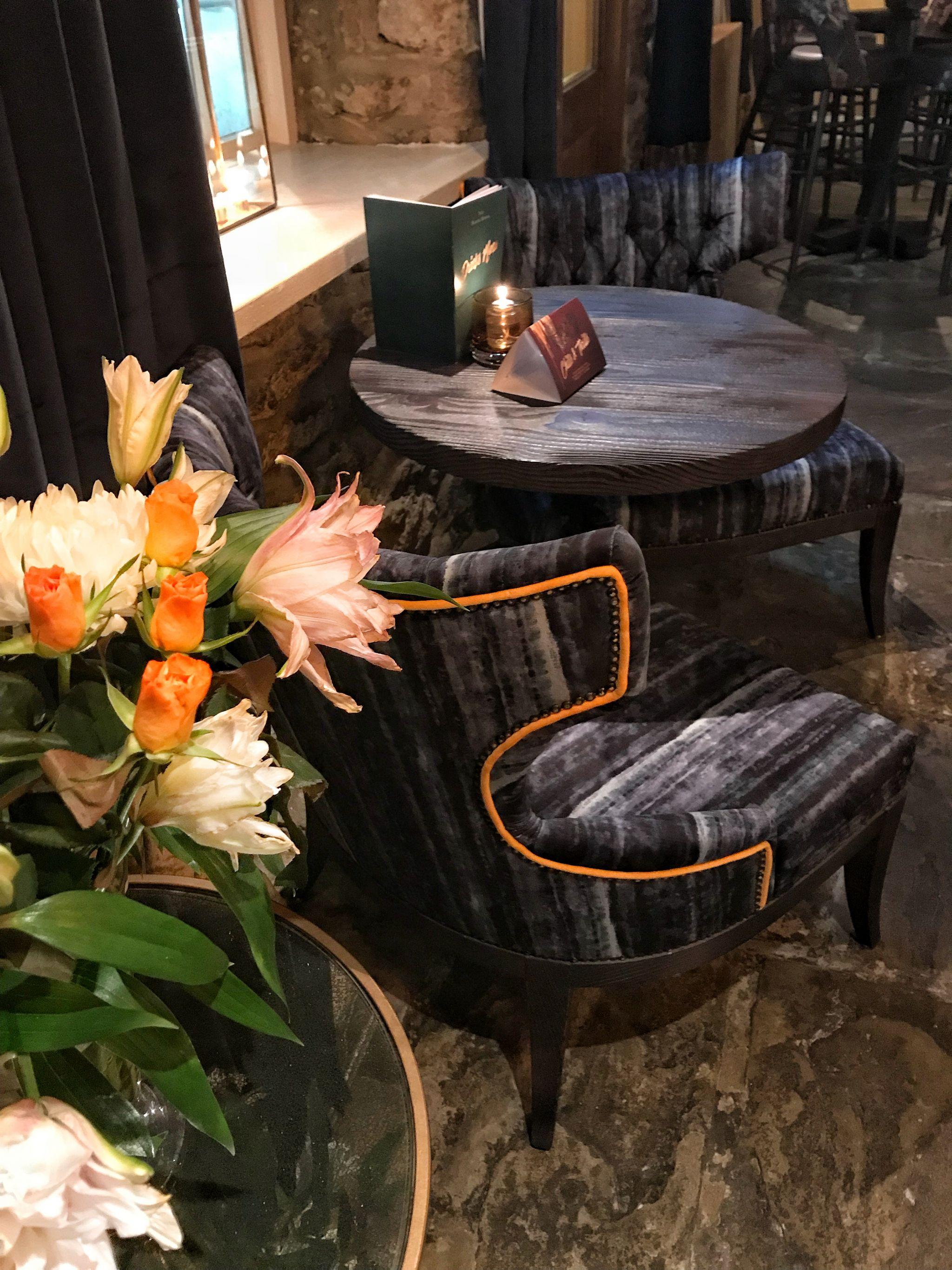 Florals following refurb at new look Black Horse Great Linford Milton Keynes