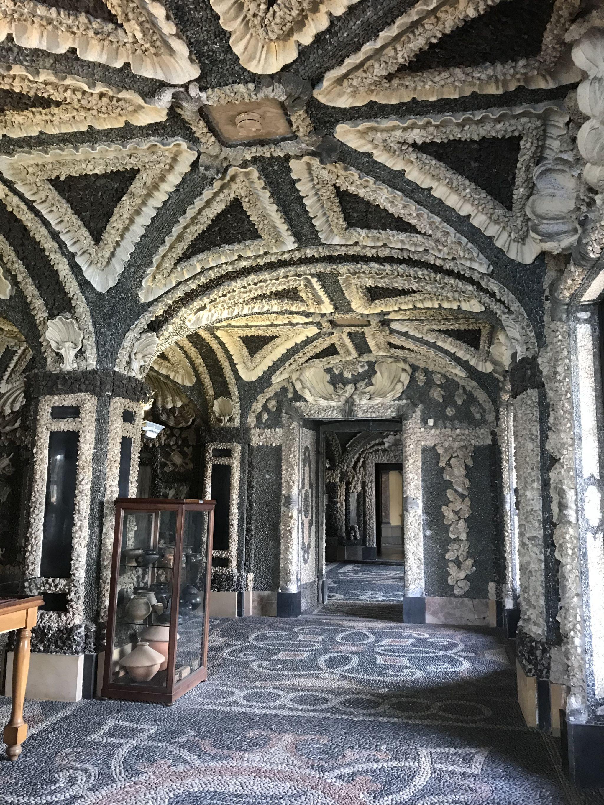 Shell Grotto at Palazzo Borromee