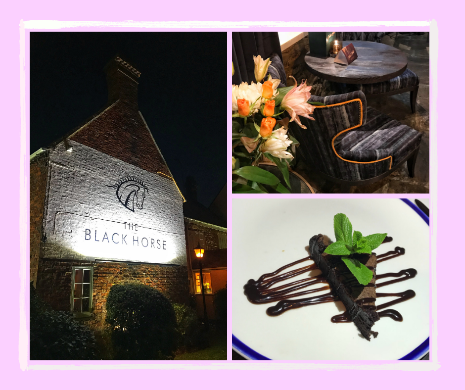 Contemporary Country Dining at The Black Horse Great Linford MK