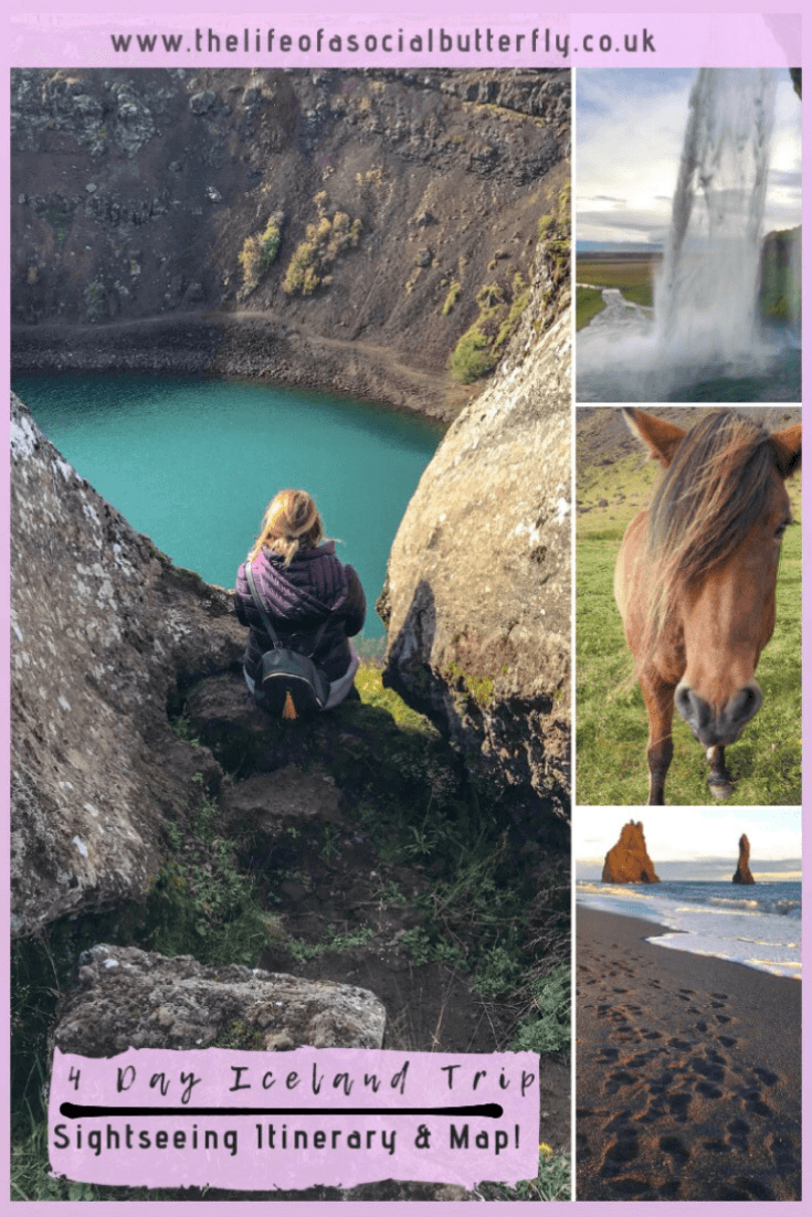 Iceland Pinterest - 4 Day Iceland Trip