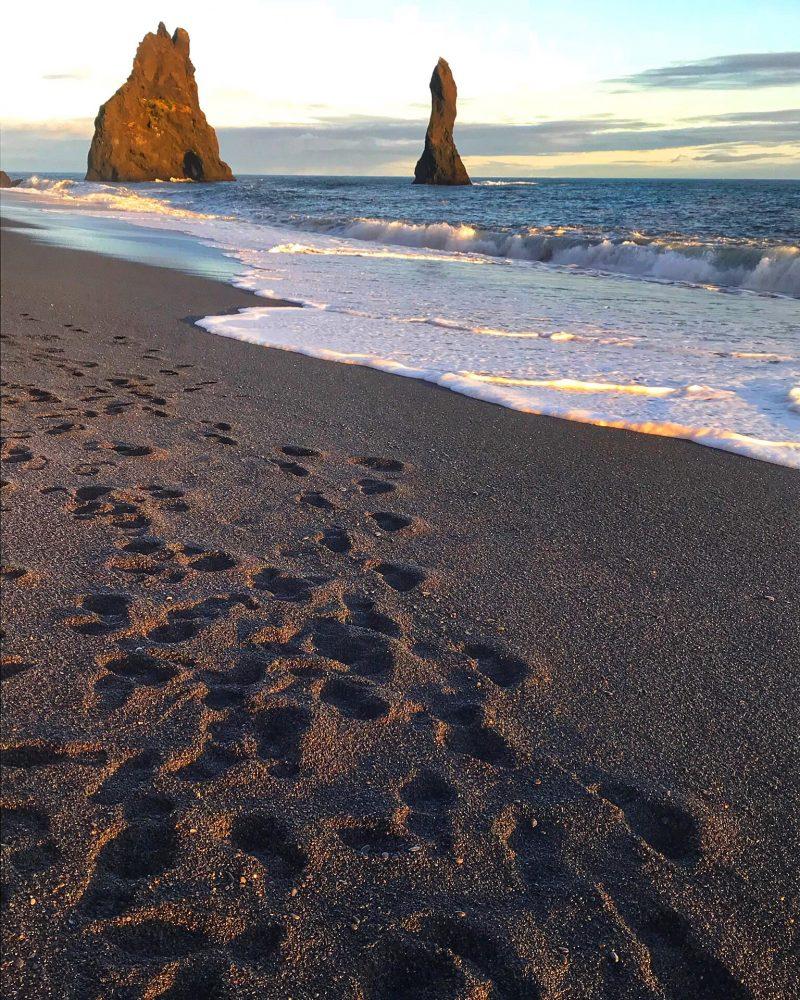 Reynisfjara Black Sand Beach Vik Iceland