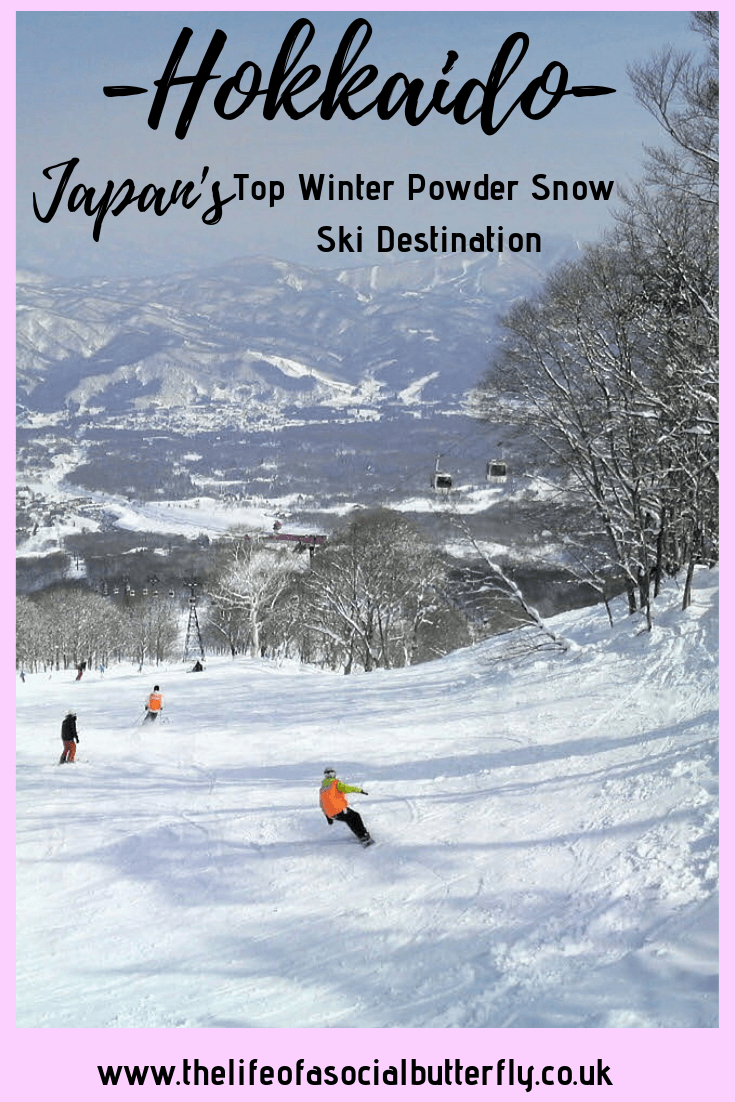 Pinterest Hokkaido Winter Event - Japan's powder snow & ski resorts