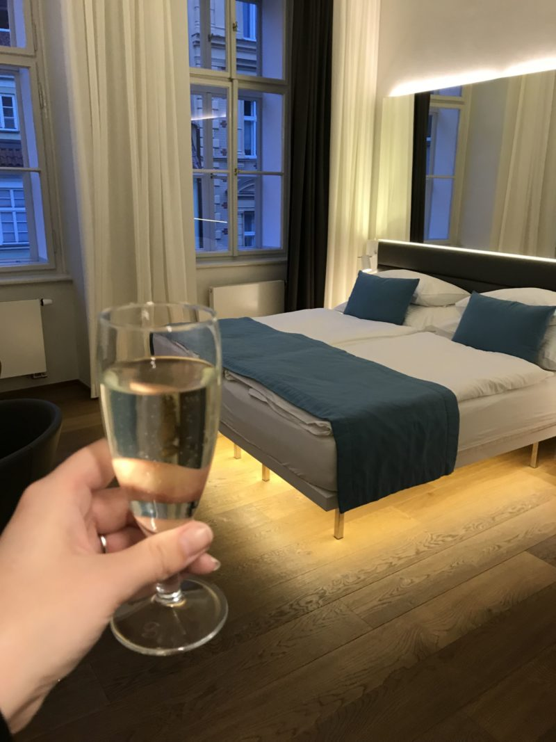 Cheers to the best place to stay in Prague The Bishops Hotel Prague