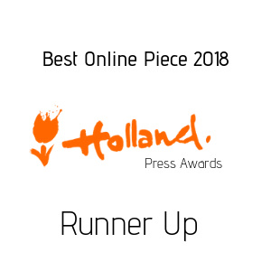 Holland Press Awards Runner Up Logo