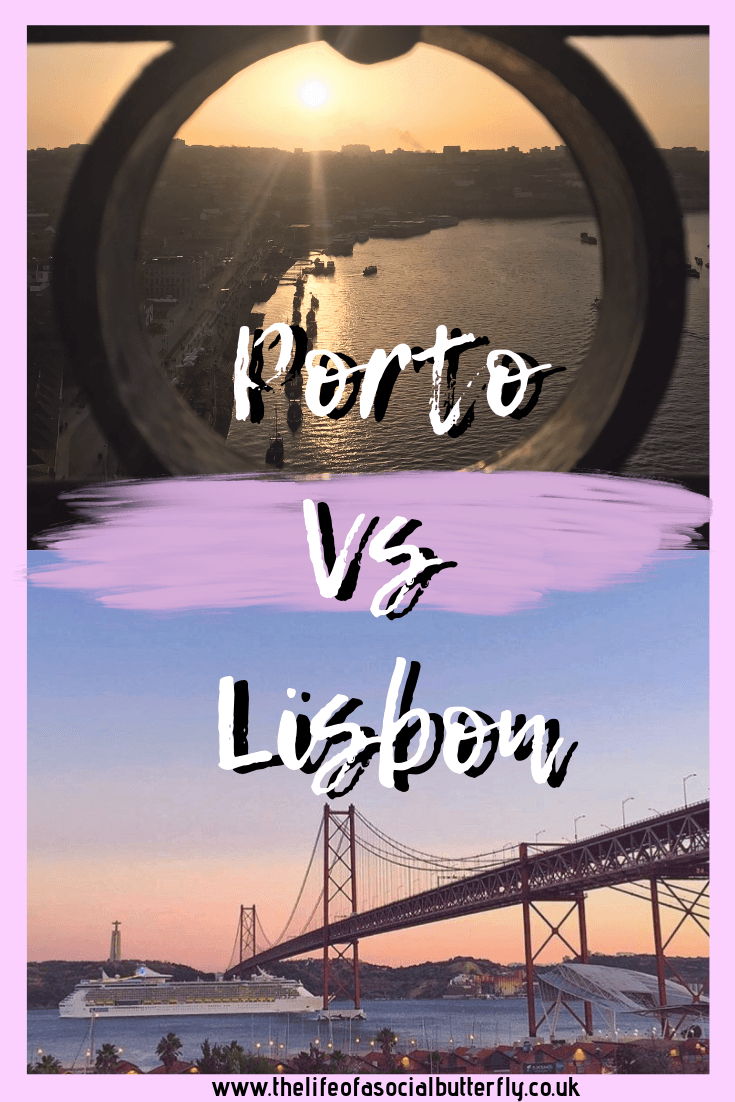 Porto Vs Lisbon - How to Choose the Perfect Portugal City Break